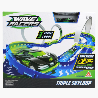 Triple Skyloop 58-Piece Race Track Set