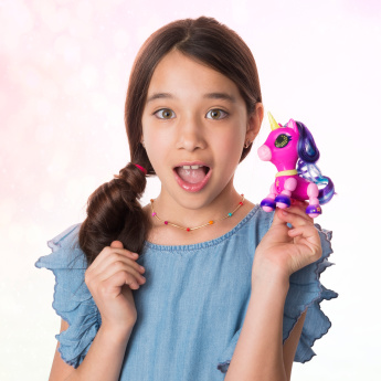 Zoomer Zupps Pony Interactive Doll with Light-Up Horn