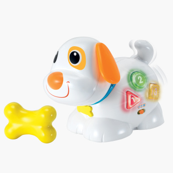 Fun N Playful Puppy Toy with Light and Sound