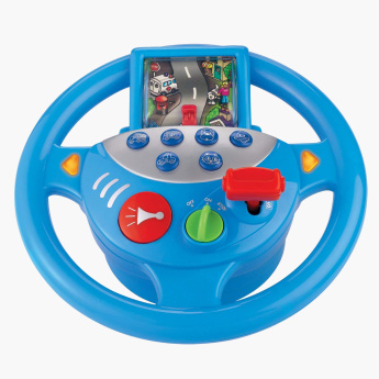 Steering Wheel Musical Toy with Movable Screen