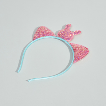 Charmz Embellished Glitter Hairband