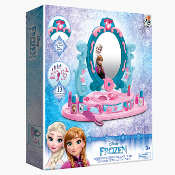 Princess Printed Dresser Playset with Music and Light