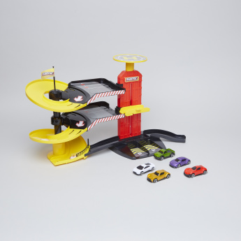 Teamsterz City Park and Drive Garage Playset