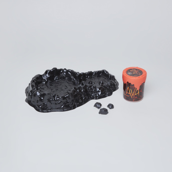Lava Splat Playset with Car and Slime