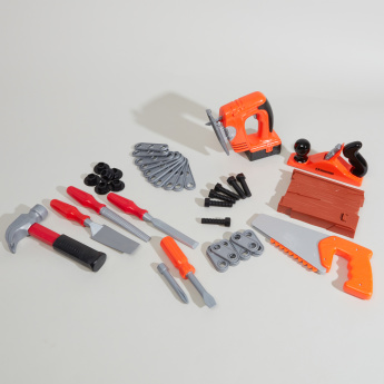 Supreme 42-Piece Carpenter Power Tool Playset