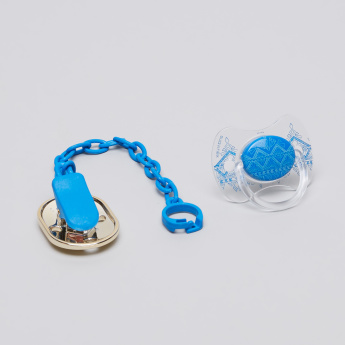 Suavinex Printed Pacifier with Chain