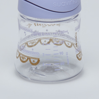 Suavinex Printed Feeding Bottle - 150 ml