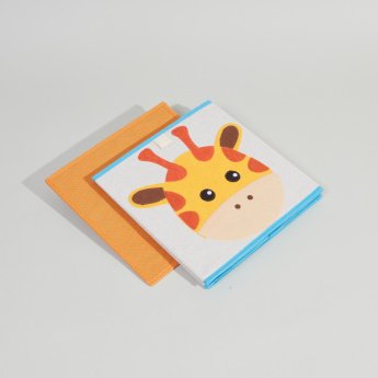 Juniors Giraffe Applique Detail Storage Box