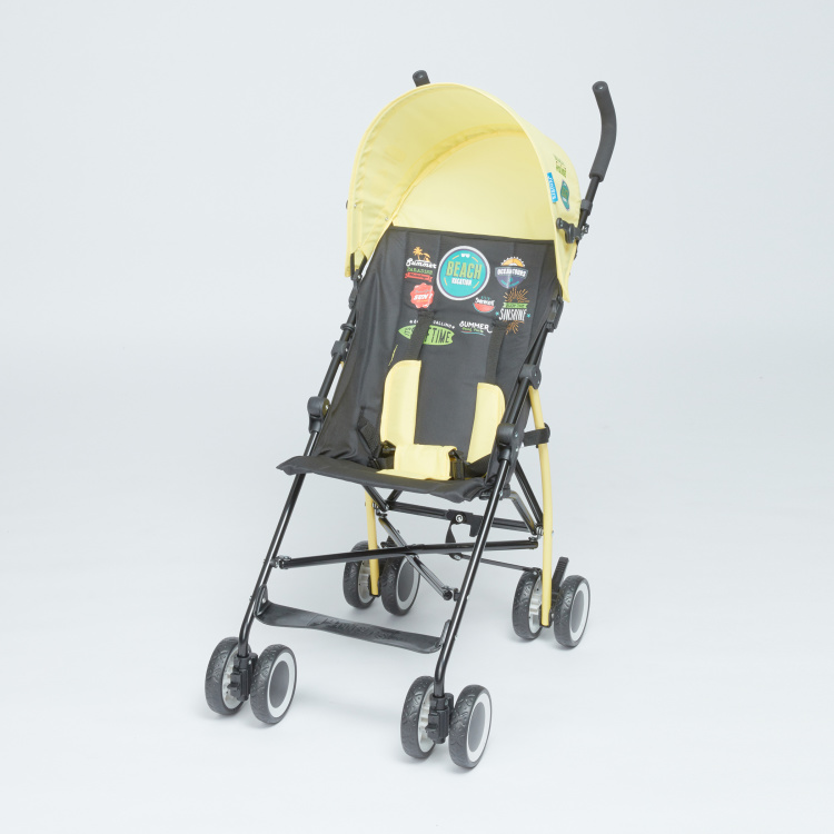 Juniors Mojo Printed Foldable Baby Buggy