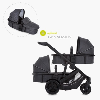 hauck Duett 3 Stroller with Rain Cover
