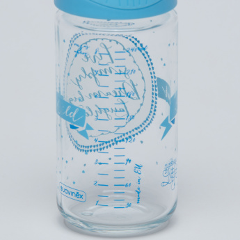 Suavinex Printed Feeding Bottle - 240 ml