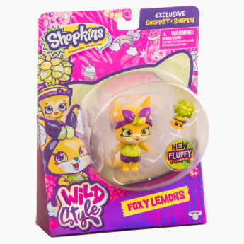 Shopkins Plush Doll Playset