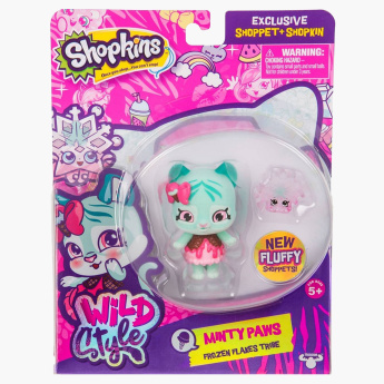 Shopkins Minty Paws Doll Playset