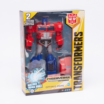 Transformers Cyberverse Optimus Prime Toy