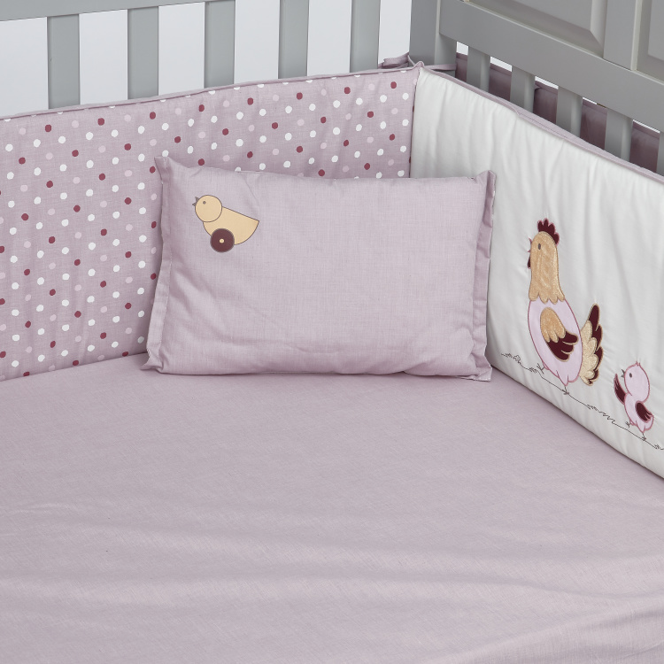 Juniors Printed 5-Piece Comforter Set with Applique Detail