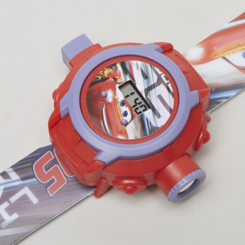 Disney Cars Print Projector Watch