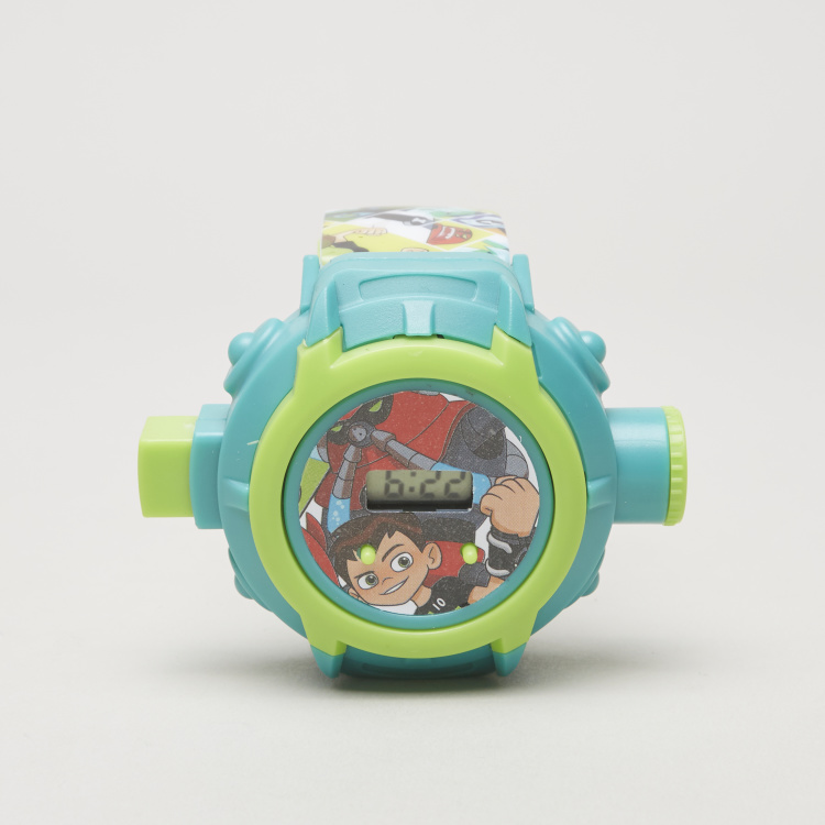 Ben 10 Printed Projector Watch