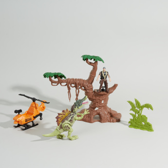 Dino Valley 6-Piece Forest Attack Playset