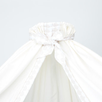 Giggles Textured Canopy with Tie-Up