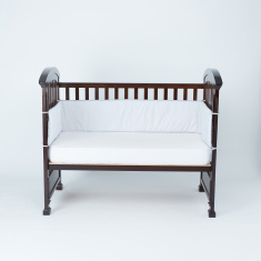 Cambrass Embroidered Cot Bumper