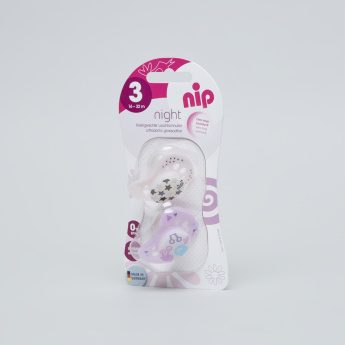 nip Printed Size 3 Soother - Set of 2