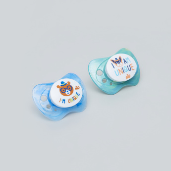 nip Unique Size 1 Soother - Set of 2
