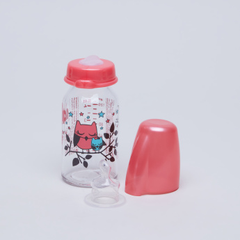 nip Feeding Bottle with Lid - 125 ml