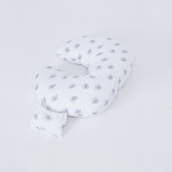 purflo Elephant Printed Feeding Cushion