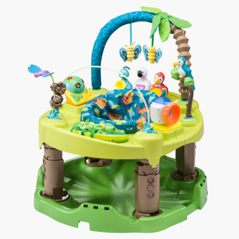 Evenflo ExerSaucer Life in the Amazon Triple Fun Activity Centre