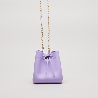 Charmz Coin Bag with Drawstring Closure