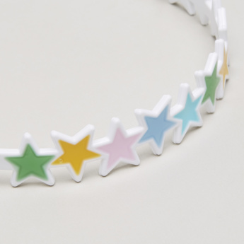 Charmz Star Applique Detail Hair Band