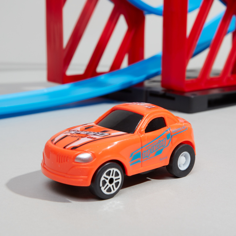 Juniors Super Racer Track  with 1-Pull Back Car