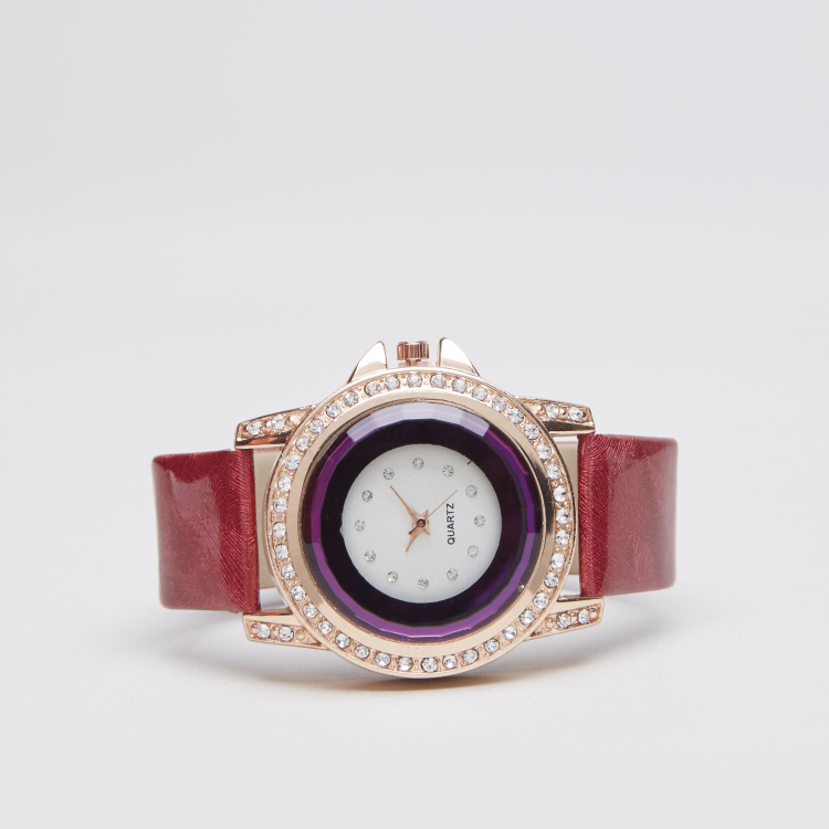Charmz Crystal Embellished Watch