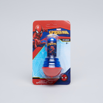 Spiderman Light Up Spinning Top