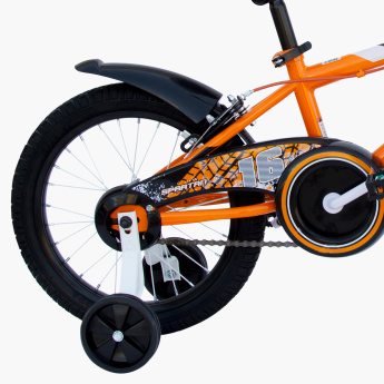 SPARTAN Drift BMX Bicycle with Training Wheels - 16 inches