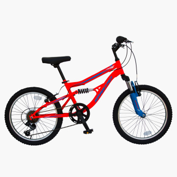 SPARTAN Mach 2.0 MTB Bicycle with Dual Suspension - 20 inches