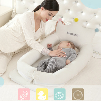 Sunveno Printed Royal Baby Bed