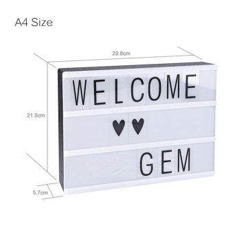 Eazy Kids A4 Size Letter Light Box