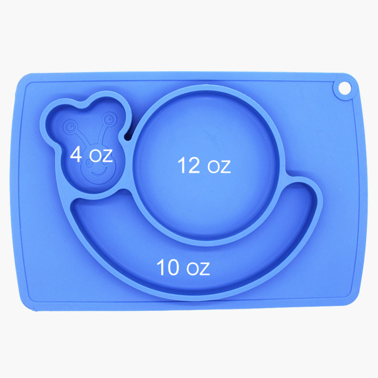 Eazy Kids Snail Placement Cum Food Plate