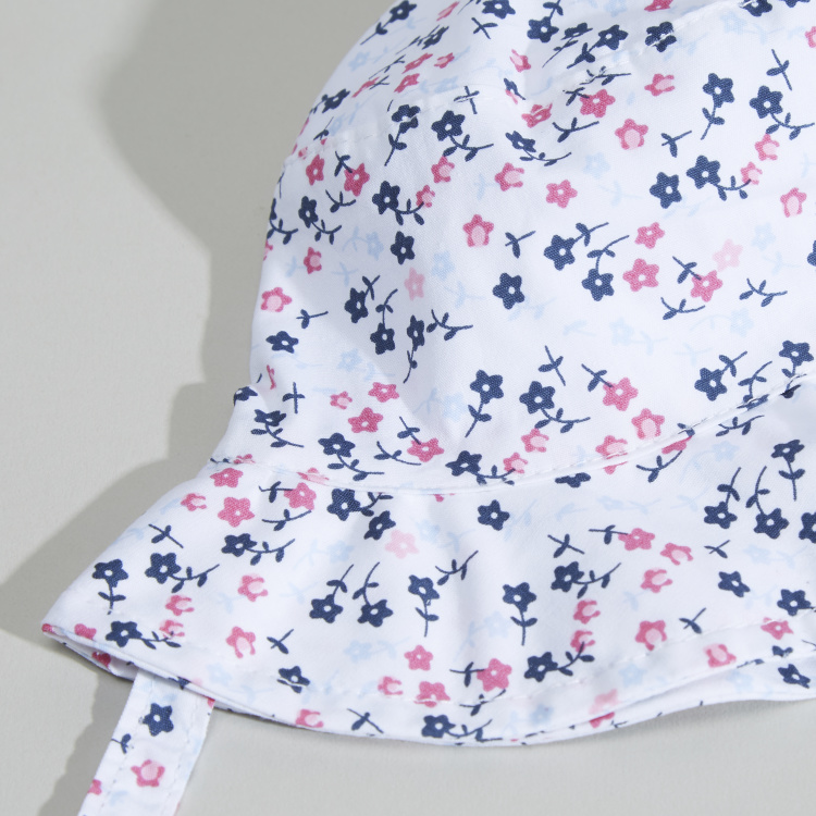 Juniors Floral Printed Bucket Hat