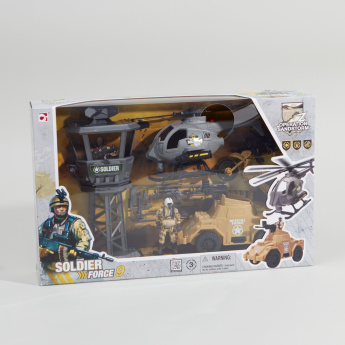 Soldier Force 9 Outpost Station Playset