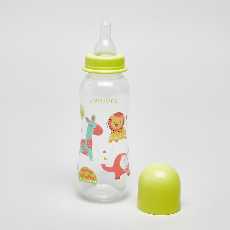 Juniors Printed Feeding Bottle - Set of 3