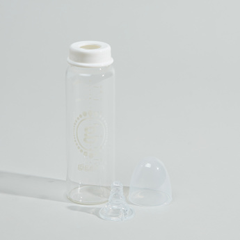 Giggles Regular Glass Feeding Bottle - 240 ml