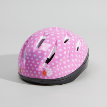 Juniors Printed Helmet with Buckle Closure
