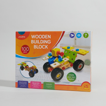Juniors 100-Piece Building Block Playset