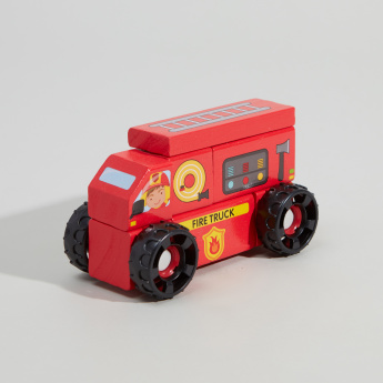 Juniors Building Block Fire Truck
