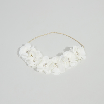 Charmz Floral Applique Headband