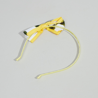 Charmz Bow Detail Hair Band