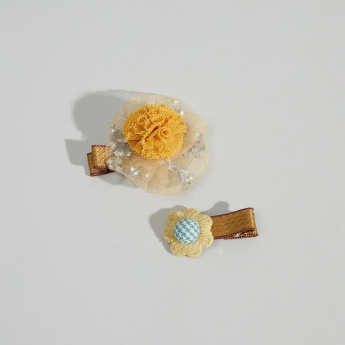 Charmz 2-Piece Embellished Hair Clips