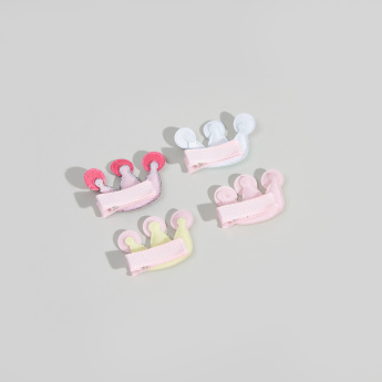 Charmz 4-Piece Embellished Hair Clips